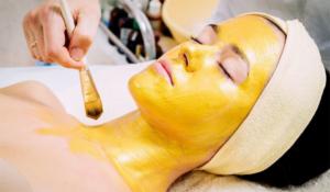 Желтый пилинг уход за кожей